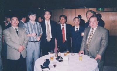 Mr. Andrei Shirzaev, Estonia & Mr. Quispe, Bolivia