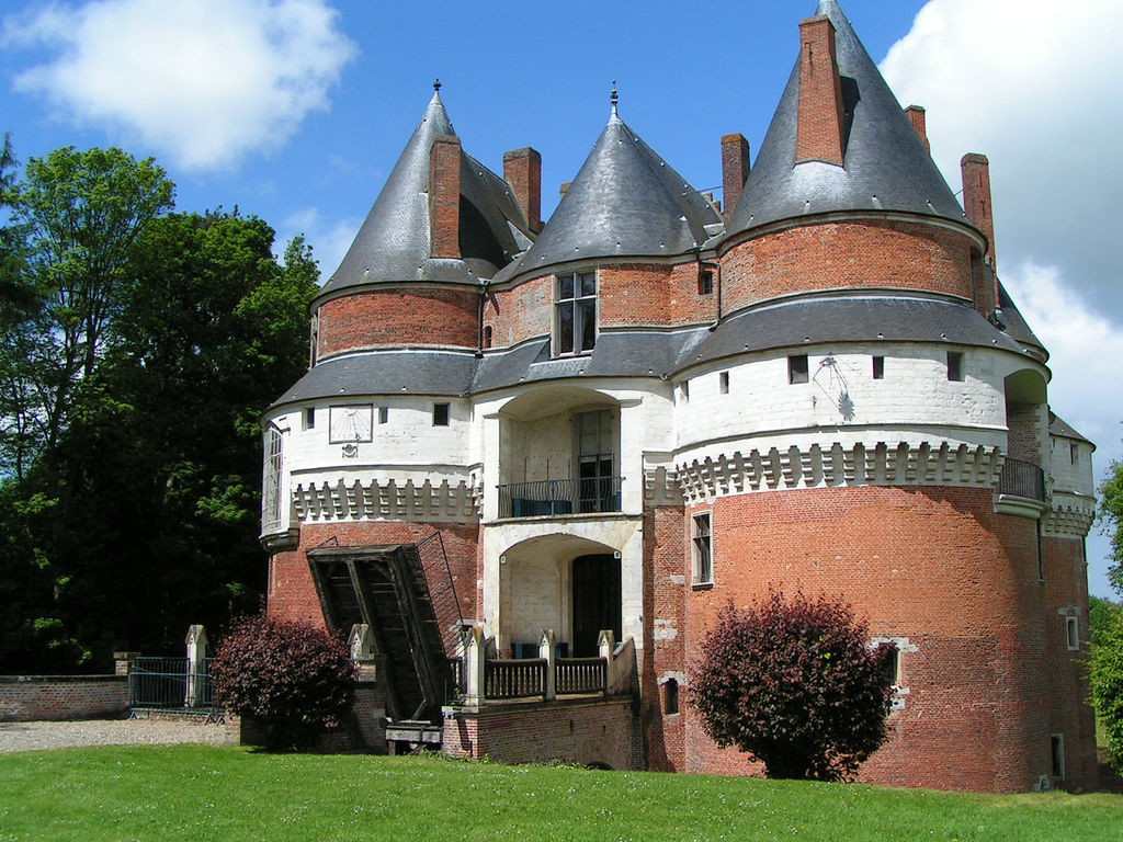 château fort de rambures