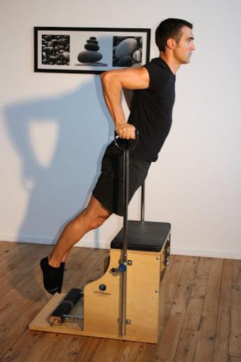Cyrille Pescher- Pilates St Avertin- stability chair