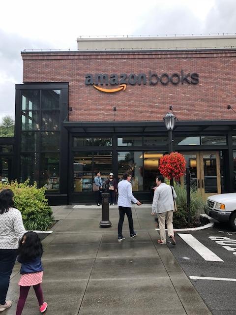 シアトルAmazon books!自分たちの業態を、破滅させる!新業態開発を見る。