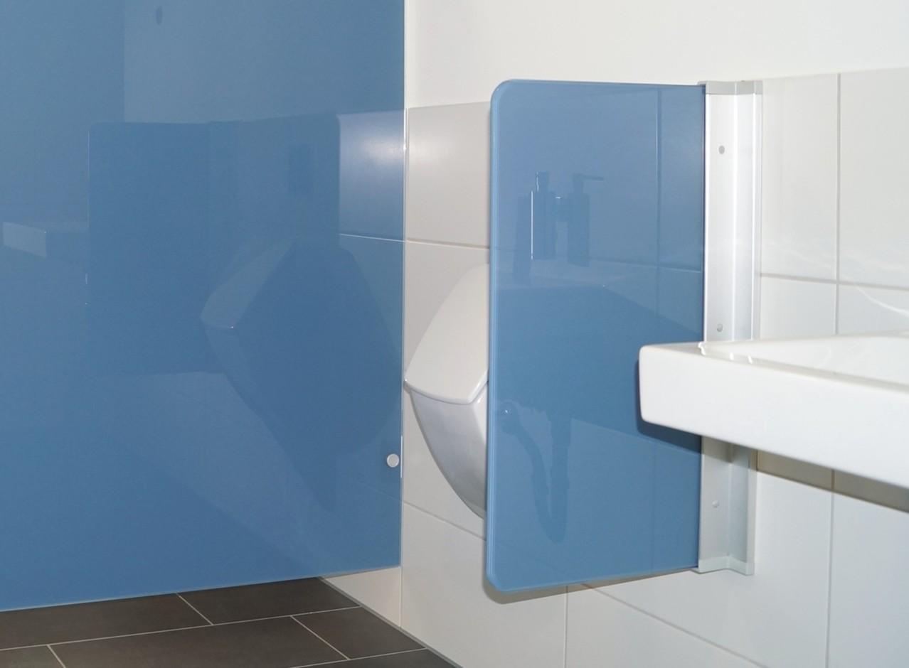Urinal Trennwände Glas   WC Trennwände   Glasanlagen   GSK ...