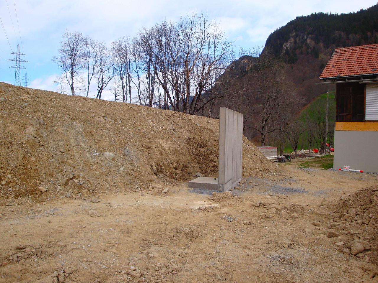 Die Schutzwand für den Rollhasen ist erstellt.