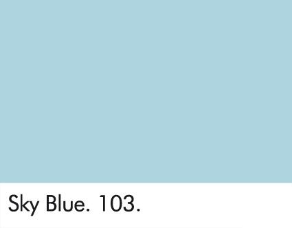 Sky Blue 103.