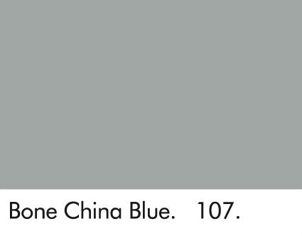 Bone China Blue 107.