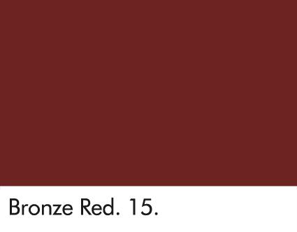 Bronze Red 15.