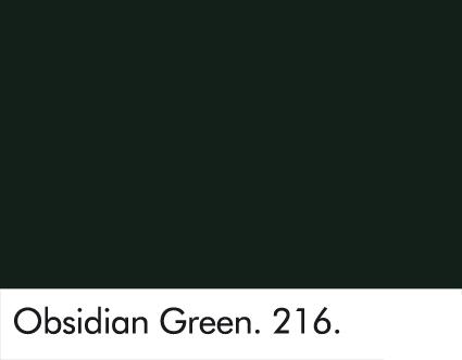 Obsidian Green 216.
