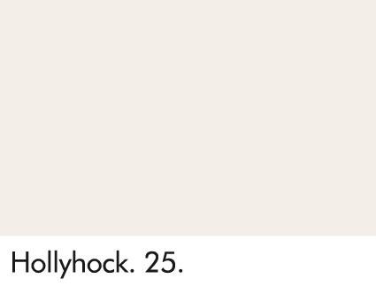 Hollyhock 25.