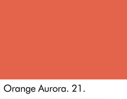 Orange Aurora 21.
