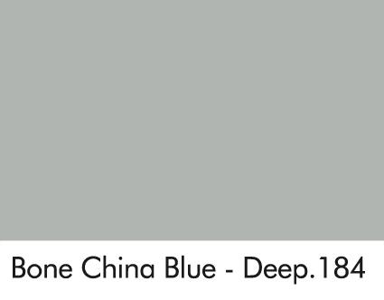 Bone China Blue - Deep 184.