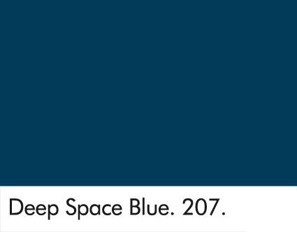 Deep Space Blue 207.