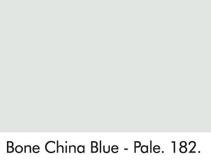 Bone China Blue - Pale 182.
