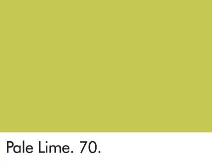 Pale Lime 70.