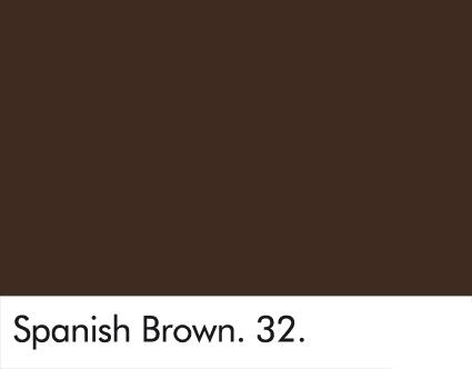 Spanish Brown 32.