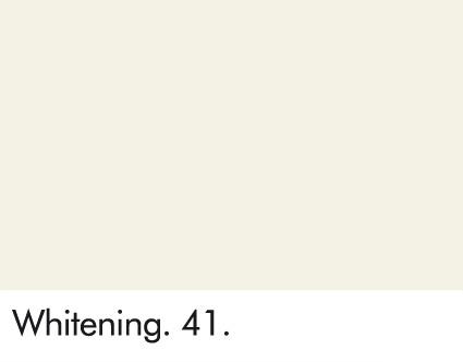 Whitening 41.