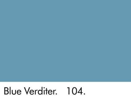 Blue Verditer 104.