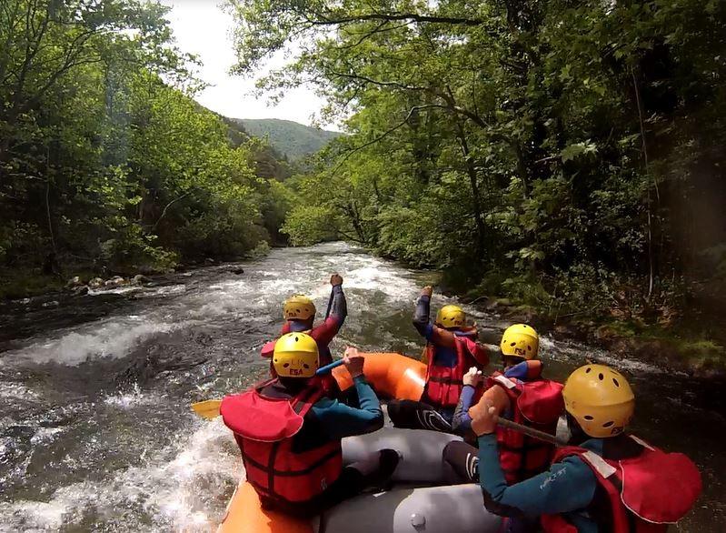 Rafting aux gorges de la Pierre-Lys