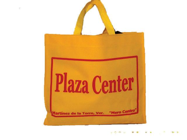 Bolsas Mandaderas de polyester o canasta con asa de cinta