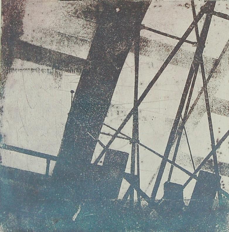 Intagliotypie, 2x 20x20 cm, Saline