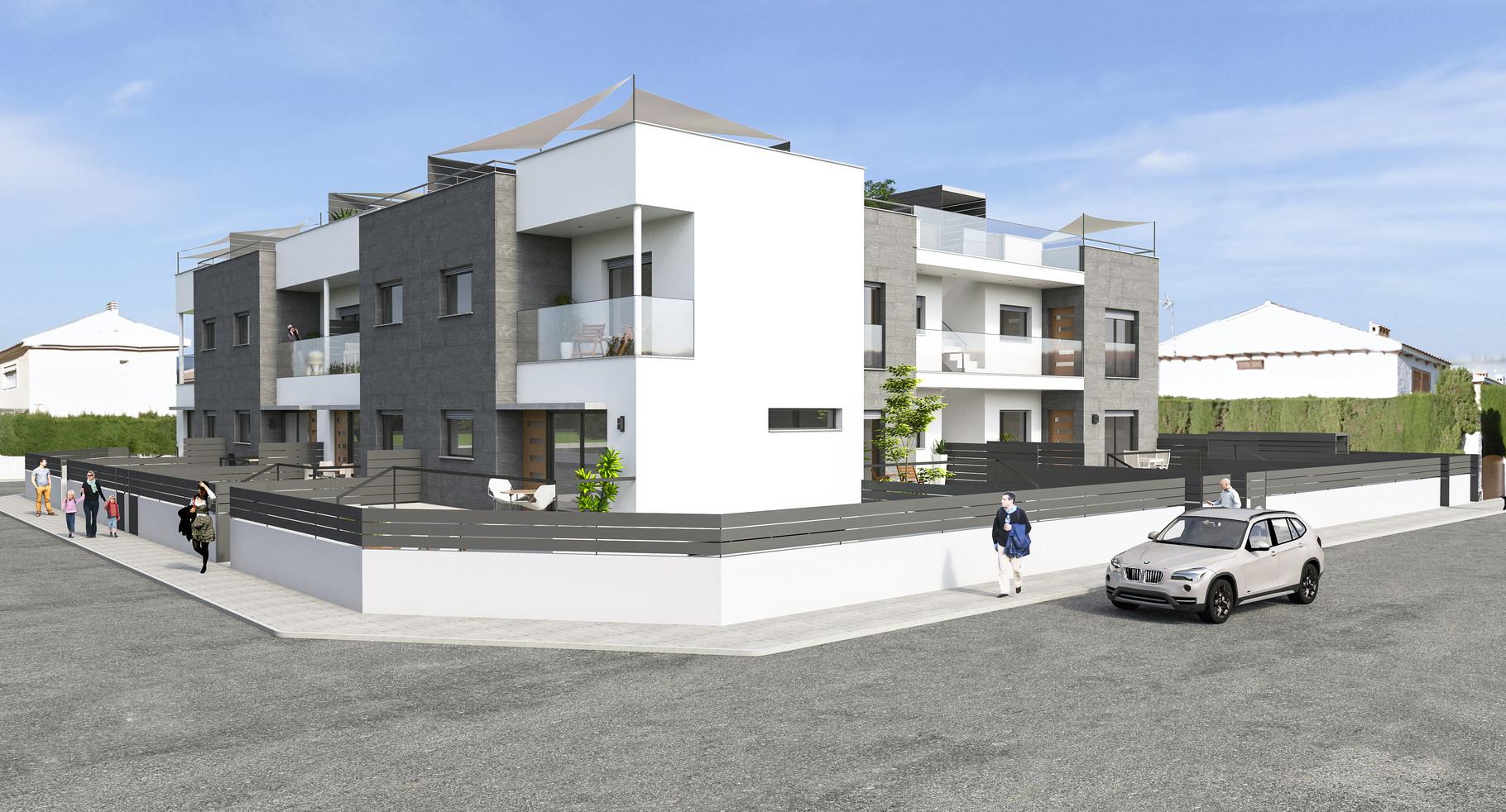 Duplex and bungalow in san javier paarquitectos estudio - Estudios arquitectura murcia ...