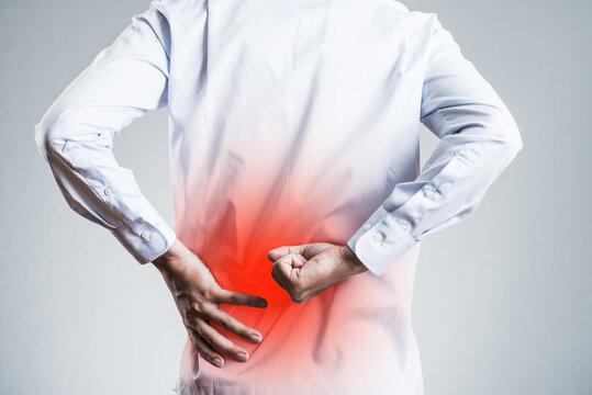 腰の痛み、腰部の痺れ