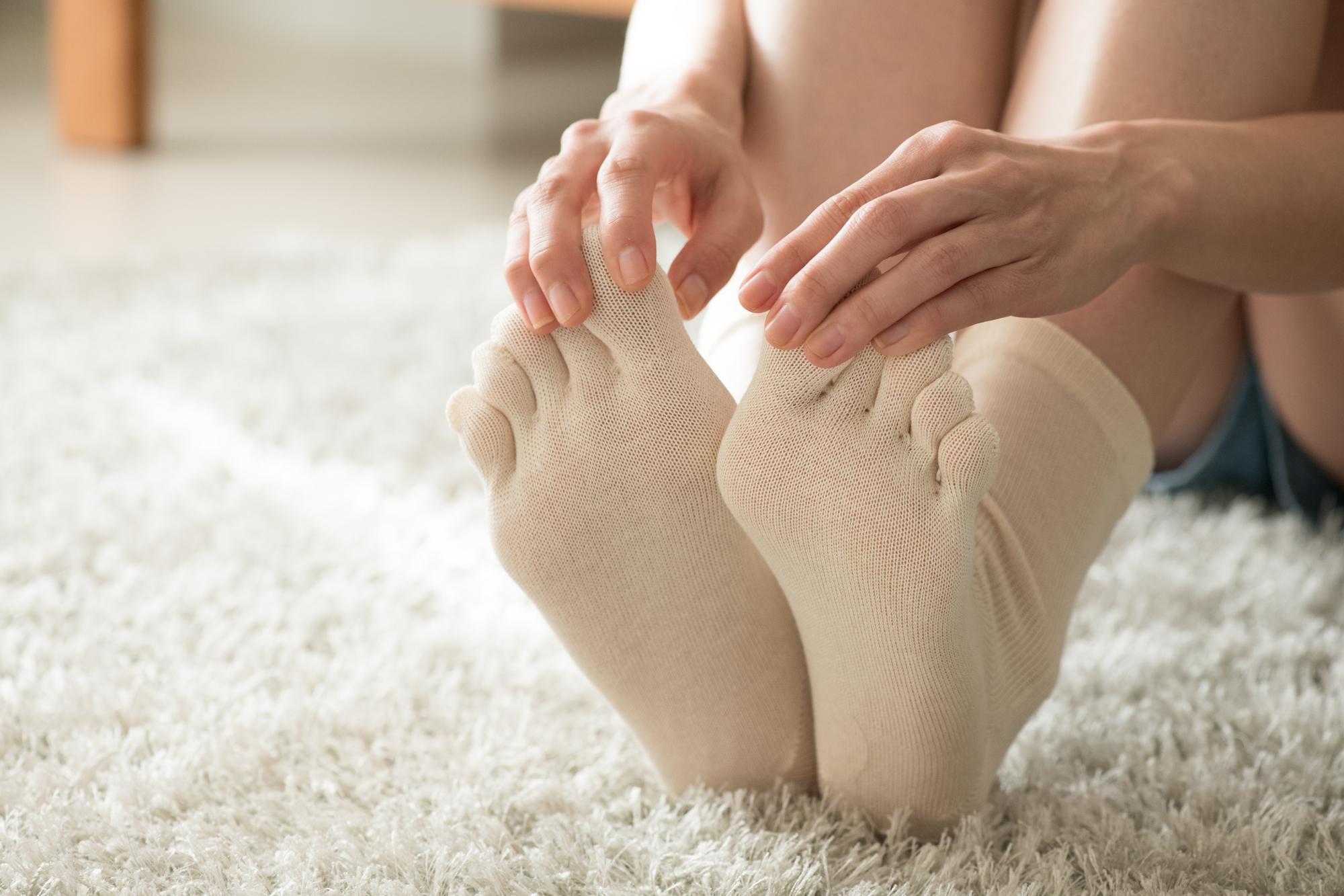 足部の変形、足裏の痛み