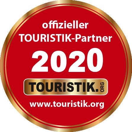 Logo als offizieller Touristik-Partner 2020