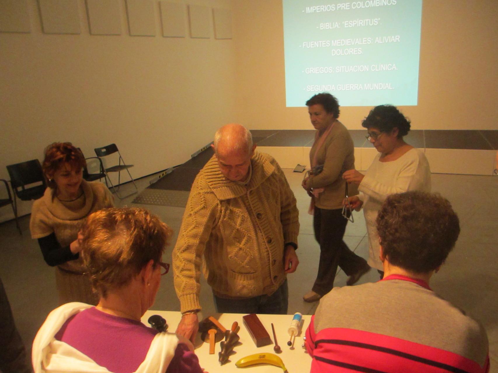 Investigación de instrumentos - musicoterapia para gente mayor