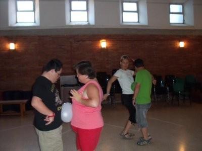 Baile con globos