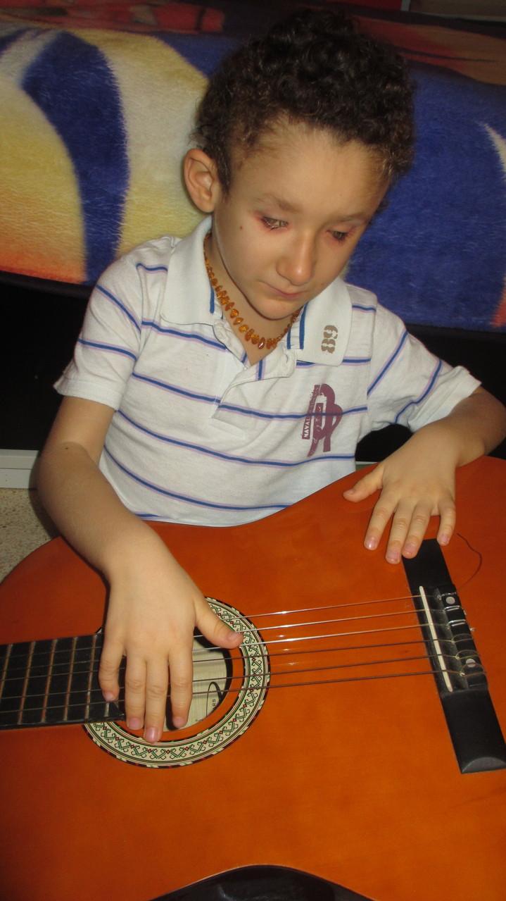 la guitarra...