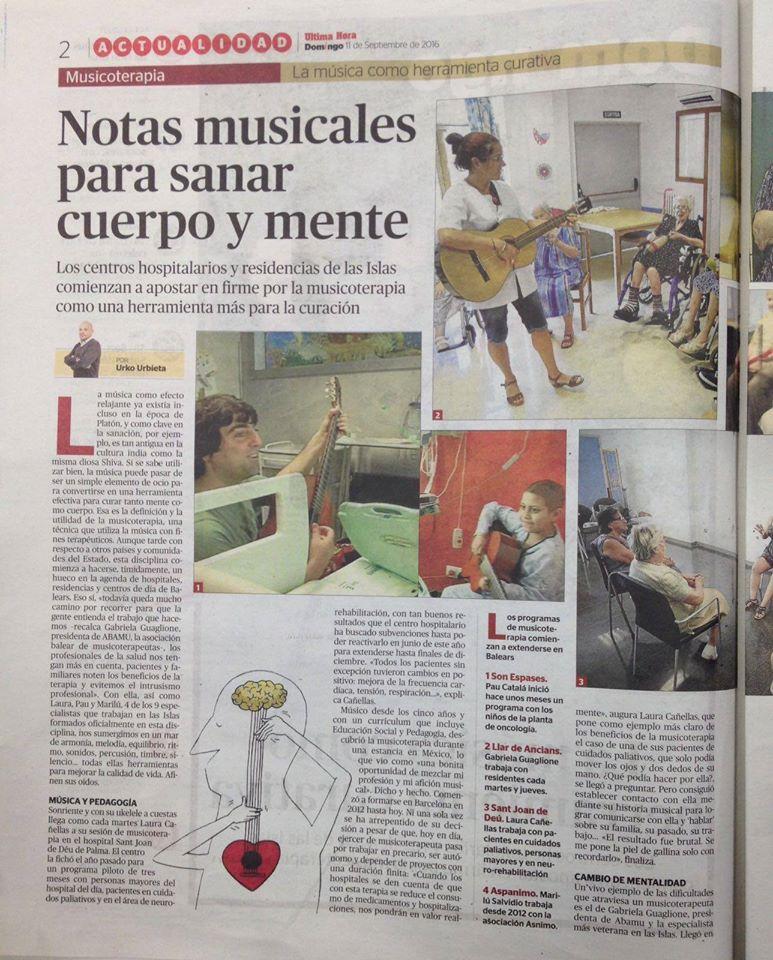 Musicoterapeutas en Baleares