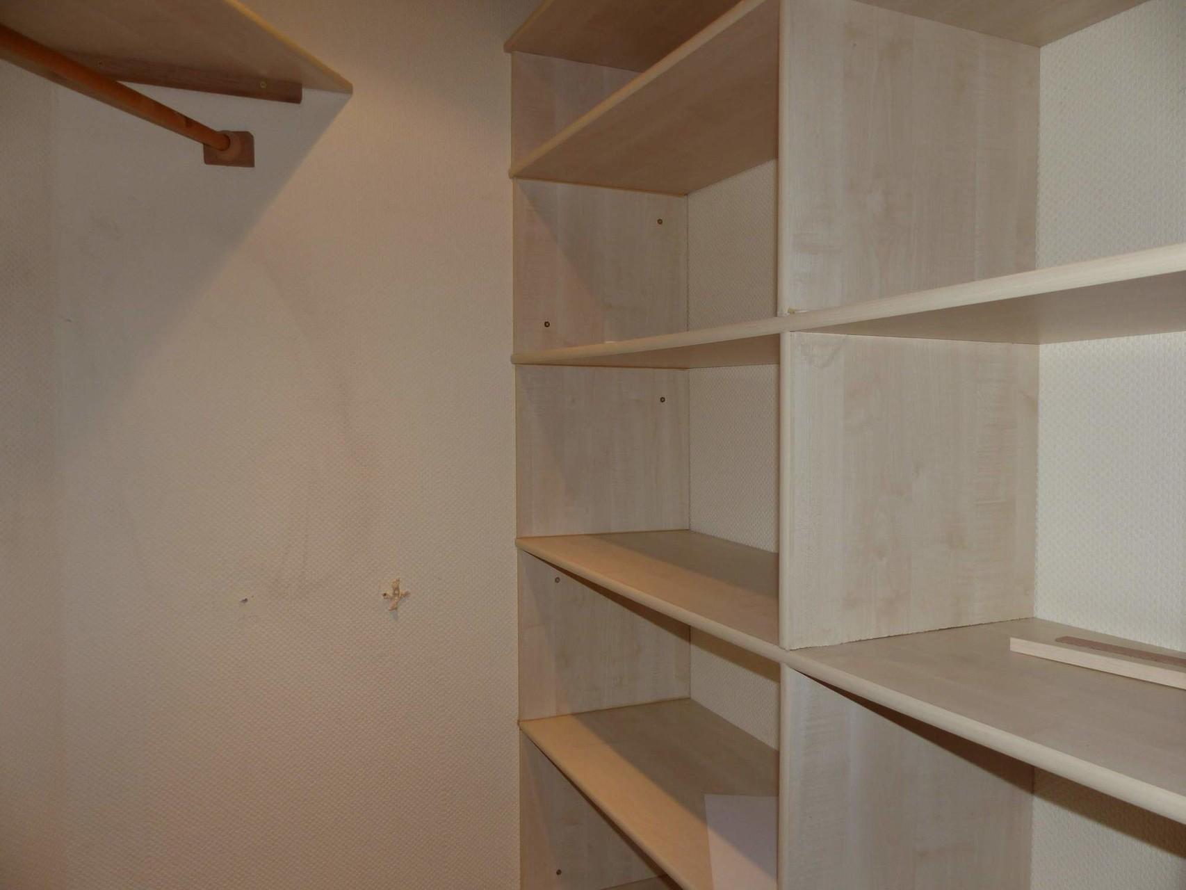 begehbarer Kleiderschrank Obergeschoss