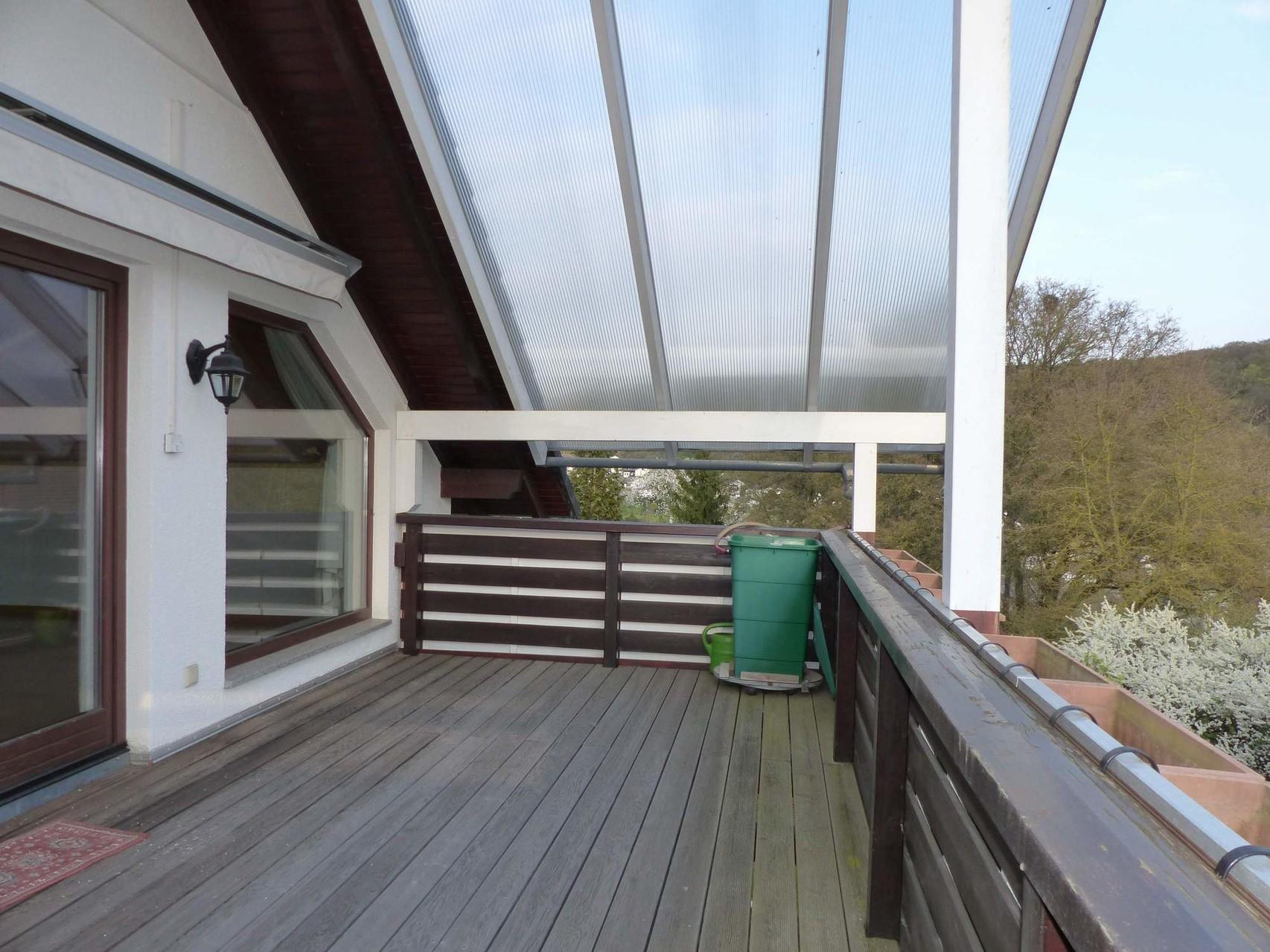 Terrasse Obergeschoss