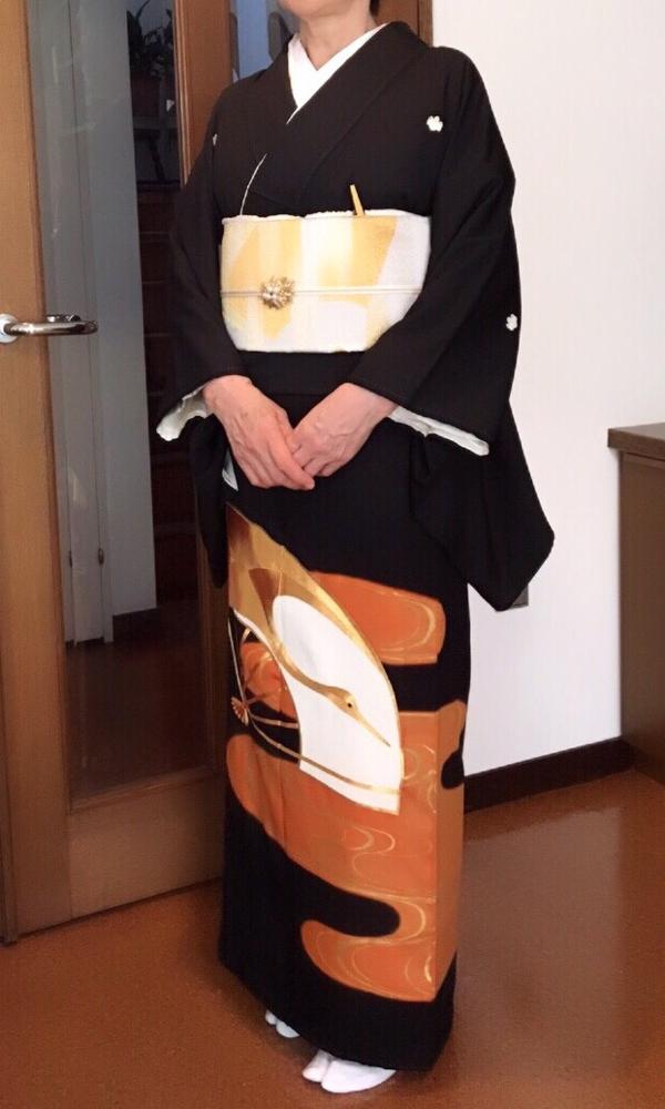 黒留袖~ミセスの第一礼装