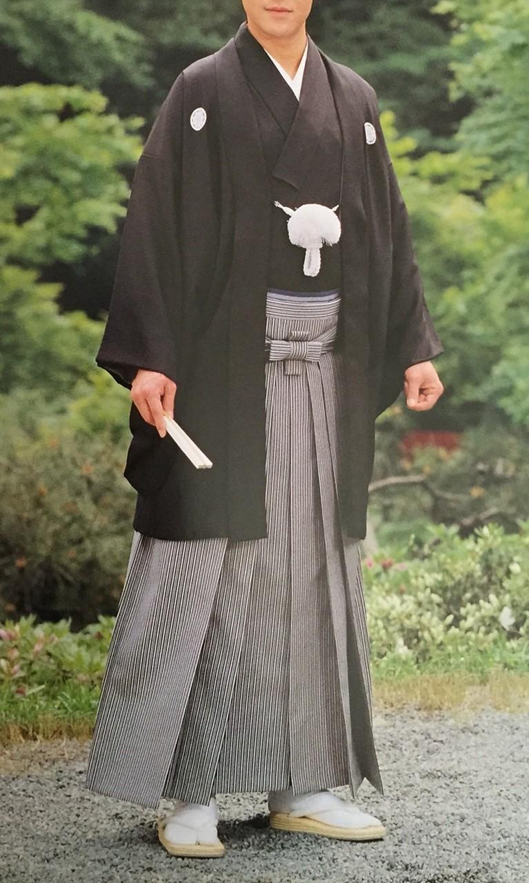 男性の礼装~紋付き羽織袴