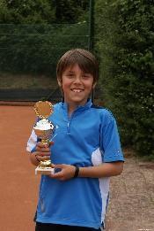 Sieger des 2. Riegelsberger Weihnachtsturnier der Junioren U12: Joel Philippe Eich