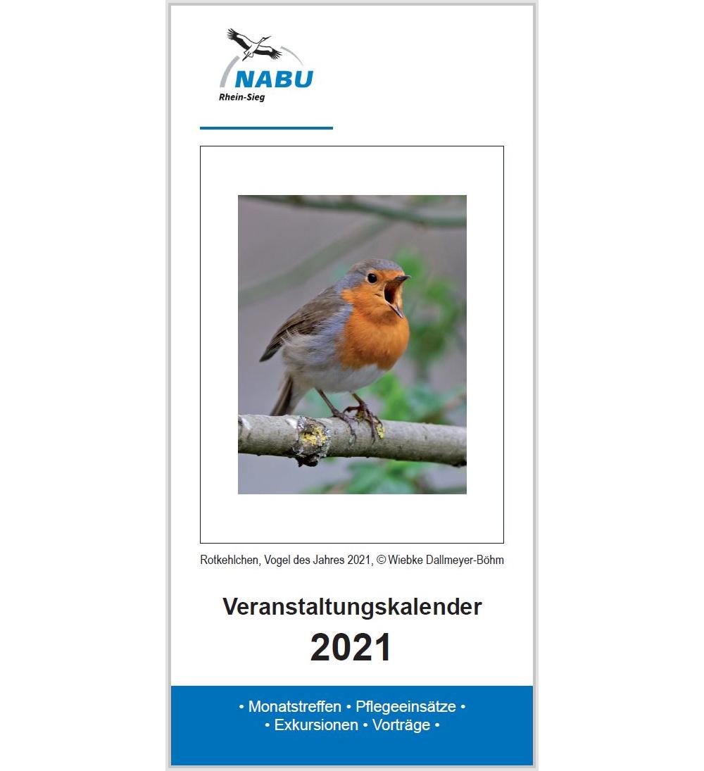 Veranstaltungskalender 2021