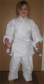 Ein kleiner stolzer Judoka