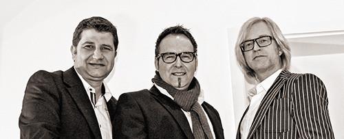 Schlagerschmiede: Bernd Offermanns, Mickey Bernard und Jost Kemmerling