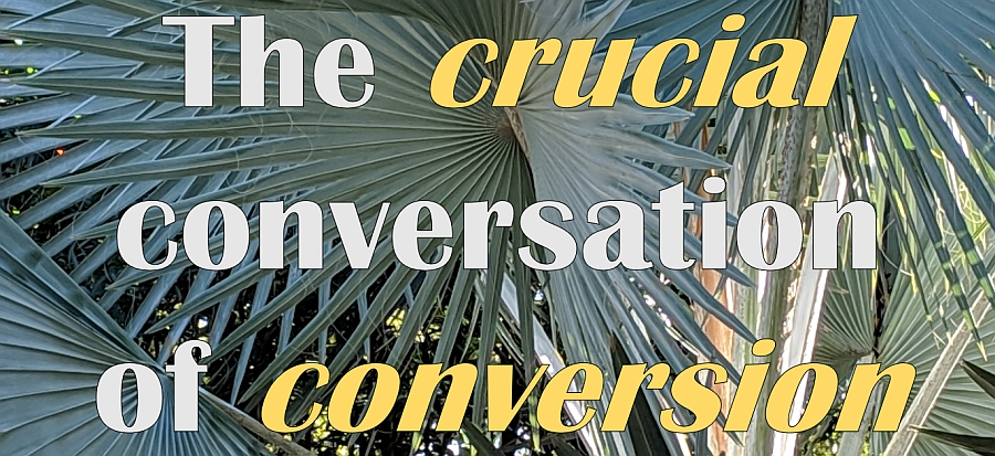 The Crucial Conversation of Conversion