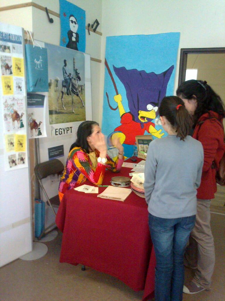 rencontre avec de jeunes égyptiennes d'Alexandrie