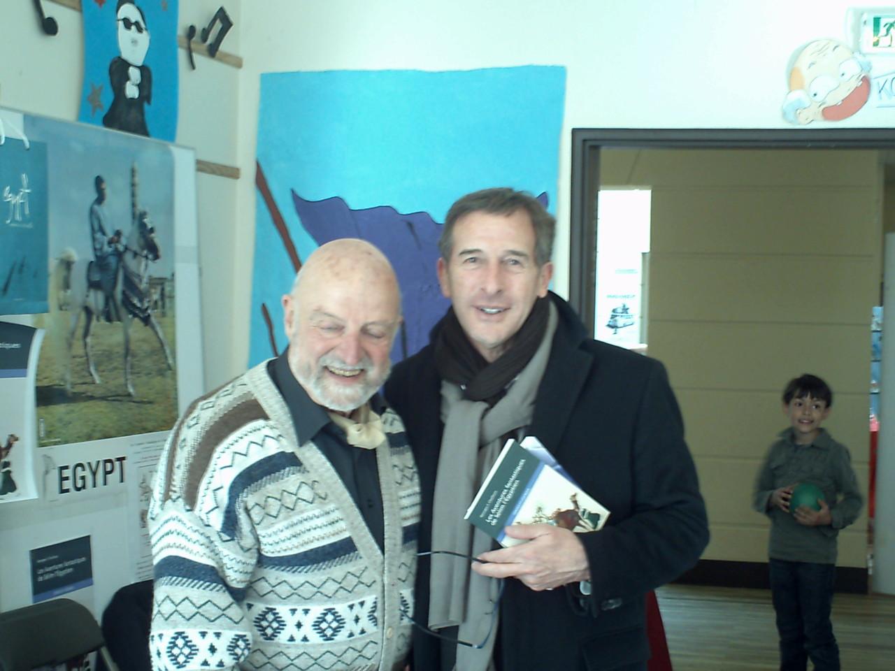 Georges F. CHALFOUN et Philippe PEMEZEC, maire du Plessis-Robinson