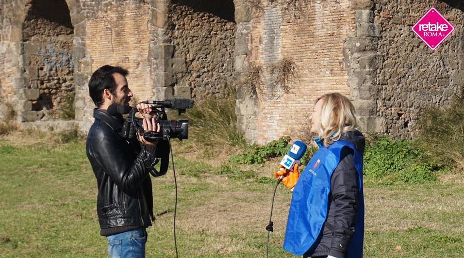 Retake Roma all'agenzia di stampa spgnola EFE
