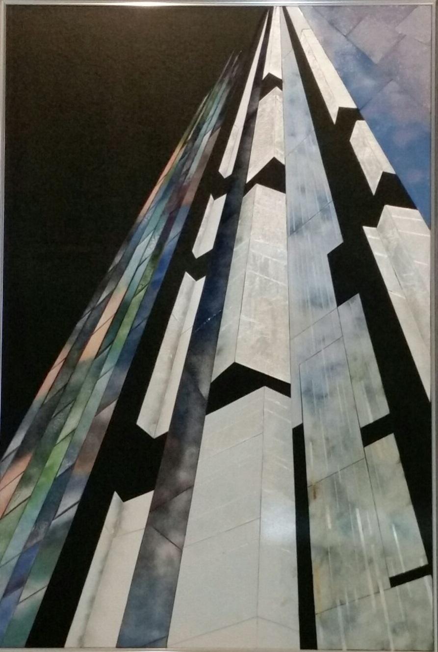 改組新第4回 日本美術展覧会 作品 『時流』