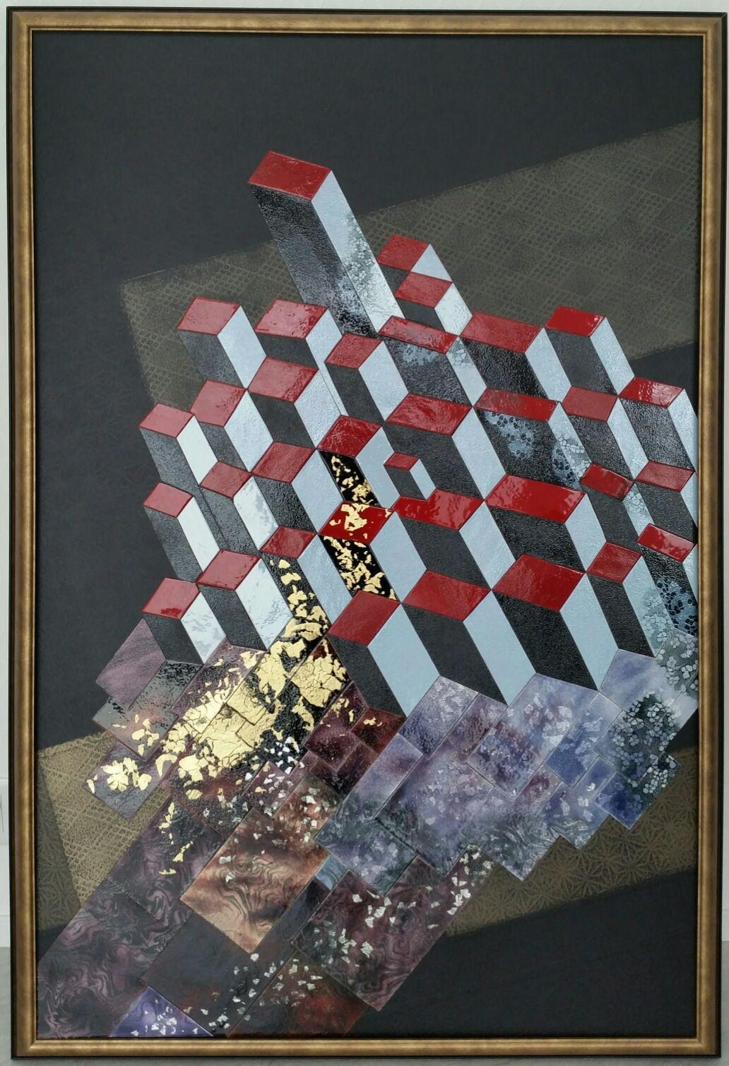 第57回 日本現代工芸美術展 作品 『三次元へ』