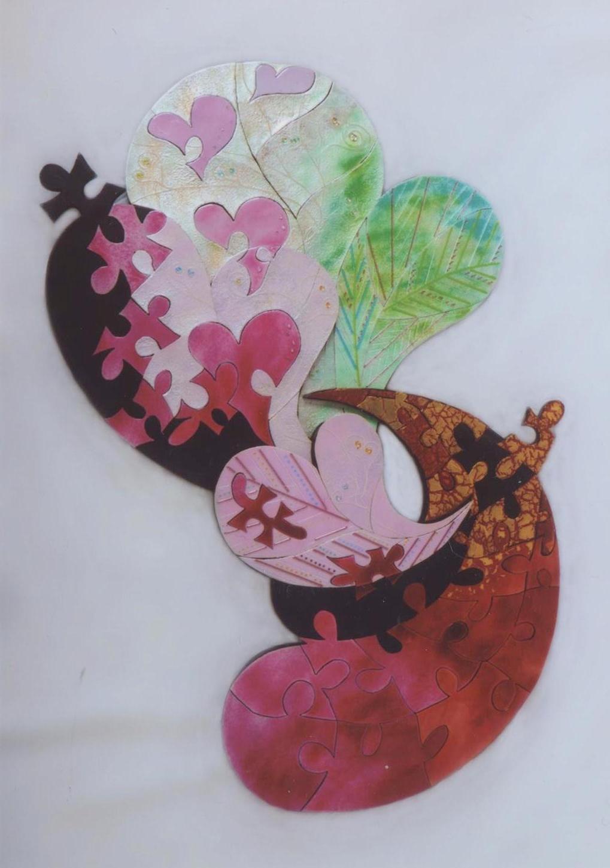 第52回 日本現代工芸美術展 作品 『愛』
