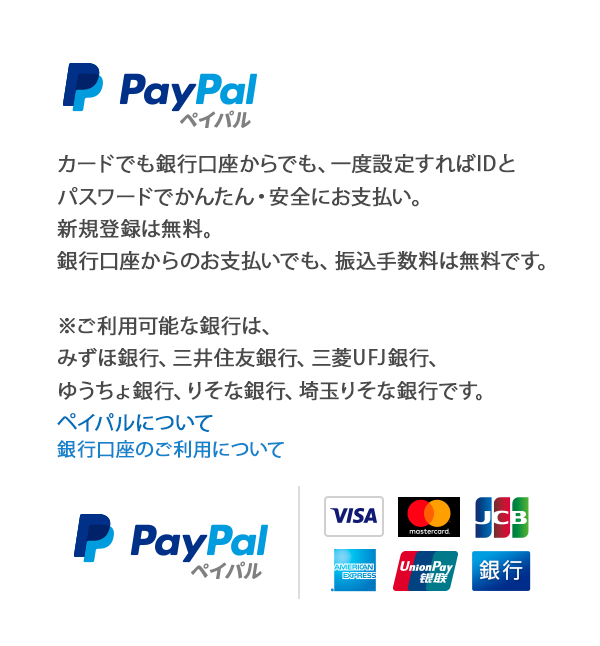 paypal決済ページ