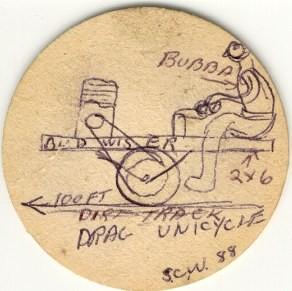Erster Entwurf entstand auf einem Bierdeckel