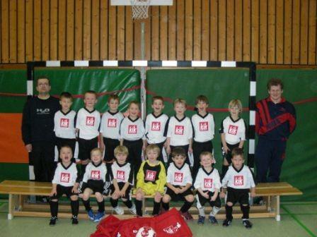 Teamfoto G- Jugend 2008/ 2009