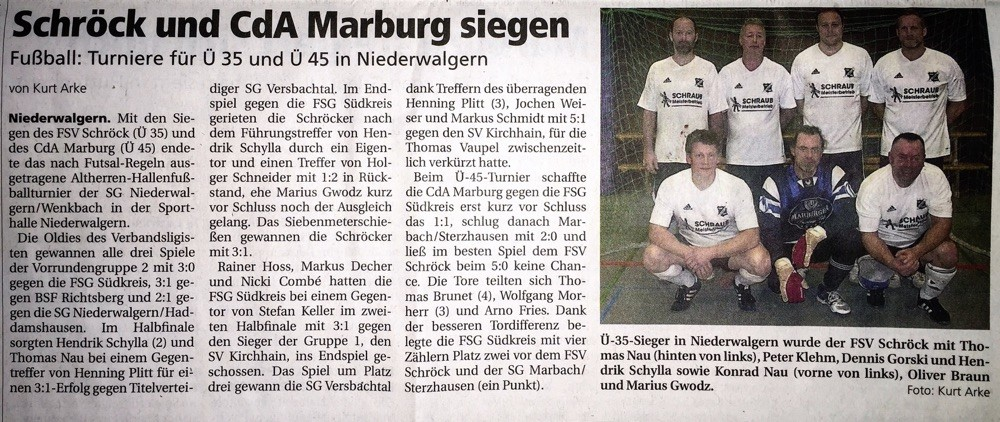 Ausgabe der Oberhessischen Presse vom: 03.02.2015