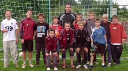 "Trainingseinheit mit Jens ""Bora"" Borawski"